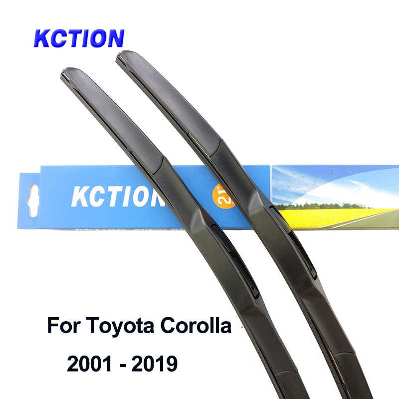 Car windshield hybrid wiper blade for Toyota Corolla windscreen wiper natural rubber rear arm accessories 2006 2007 2008 2010