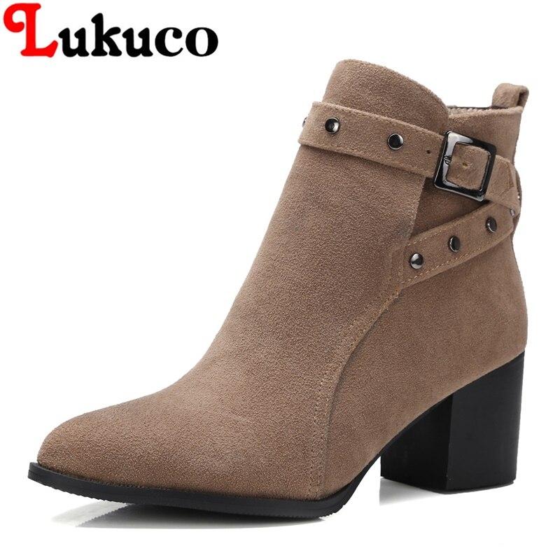 2018 women boots super large size 36 37 38 39 40 41 42 43 44 45 46 47 48 women shoes pure colors fashion design free shipping
