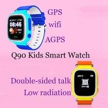 GPS reloj inteligente reloj bebé Q90 con Wifi pantalla táctil SOS de  Localización de llamadas DeviceTracker 5a4d631c18f