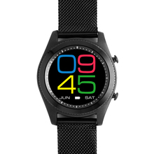 2017 New Round MTK2502C Smartwatch Heart Rate Monitor Bluetooth 4.0 Smart watch Bracelet Wearable devices for iOS Android Phone