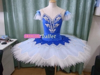 Blue Bird Professional Tutus Girls Sleep Beauty Fairy Classic Ballet Costumes Nutcracker Tutu Custom Made SB0050