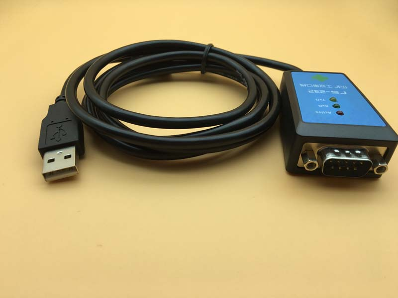 USB to Serial Port DB9 Pin COM Adapter Cable FTDI Chipset Industrial Grade USB to RS232 Converter 1.8meter