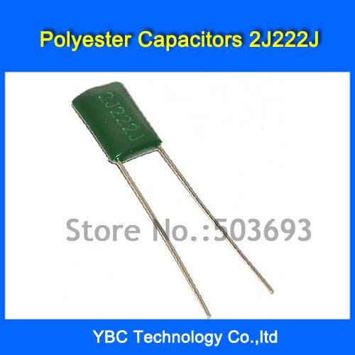 2.2nF 630V 2J222J Polyester Film Capacitors  .. .. . ..
