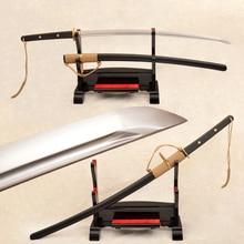 Traditional Hand Forged Japanese Samurai Sword Katana 9260 Spring Steel Full Tang Blade Very Sharp Japan Swords Can Cut Bamboos