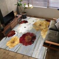 Скандинавский металлический ковер татами геометрического стиля для гостиной 140x200 см размер прикроватный коврик для спальни бархатный напо