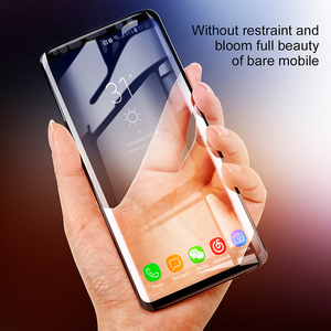 Image 2 - Baseus 3D Surface Tempered Glass For Samsung S9 S9 Plus Full Cover Screen Protector For Samsung Galaxy S9 S9Plus Protective Film