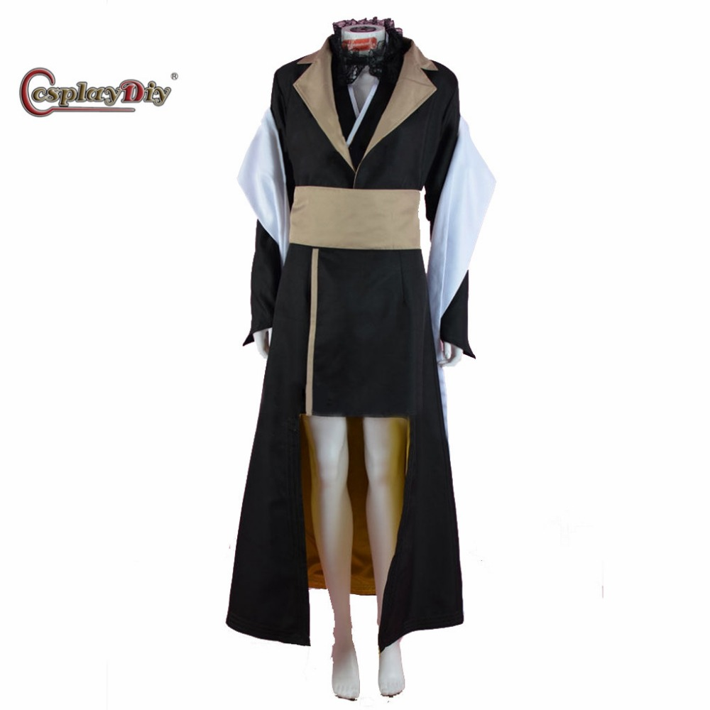 Cosplaydiy Game Final Fantasy XV Cosplay Gentiana Costume Outfit For Adult Women Halloween Carnival Custom Made