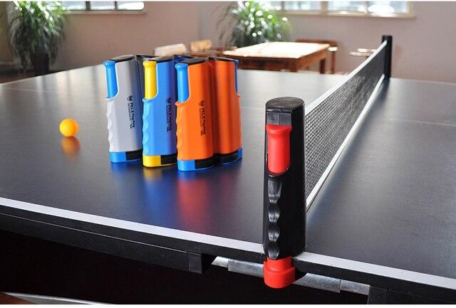 f4b78e1be Nova Retrátil Rede De Tênis De Mesa PingPong Kit Bolas De ping pong Net Rede  De