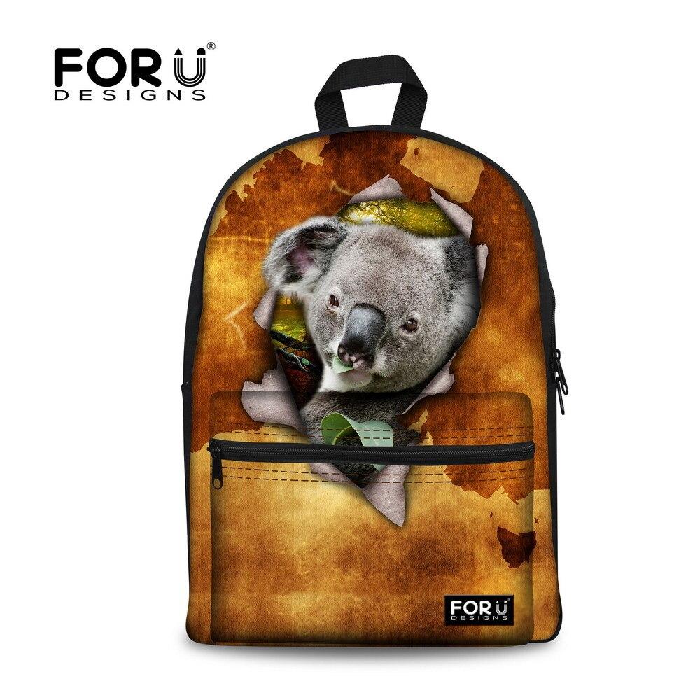 b3ceef4caf Hot Animal School Backpack Cute 3D Koala Children Backpack Fashion Boys  Backpack Rucksacks Kids Laptop Backpack Mochila feminina-in School Bags  from Luggage ...