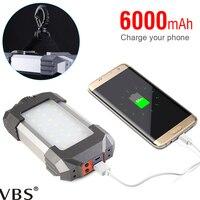 USB charging Portable Spotlight camping led lamp rechargeable light 400LM/500LM IPX5 rechargeable light Linterna de papel A1