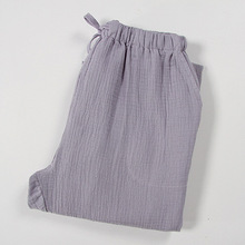 BZEL Men's Lounge Pants Male Soft Cotton Sleep Bottoms Loose Casual Pajamas Suit For The Four Seasons Plus Size Pyjamas Pijamas