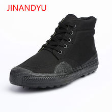 All Season Army Boots for Man Canvas Shoes Men Camouflage Work&Safety Shoes Military Tactical Desert Boots Men Jungle Shoes(China)