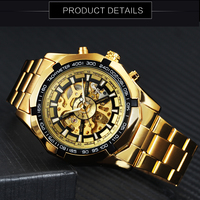Winner Watch Men Skeleton Automatic Mechanical Watch Gold Skeleton Vintage Man Watch Mens FORSINING Watch Top Brand Luxury 3
