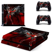 Anime Decal Skins Sticker PS4 Skin For Sony PlayStation 4 Console Vinyl Decals For Dualshock Two Controller