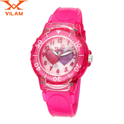 Vilam children watches cute kids sports cartoon wrist watch school clock girls boys lover rubber waterproof.jpg 250x250