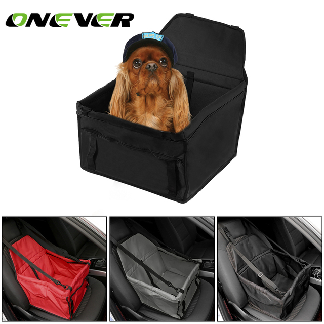 Onever Folding Car Seat Safe Travel Carrier Booster For Pet Cat Dog In
