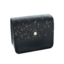 Mini Bag Ladies Leather Women Shoulder Bag Coin Purse Sequins Pearl Cover Crossbody Messenger Bags Female Clutch Flap#Z(China)