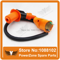 Free Shipping Dirt Pit Monkey Bike ATV Quad Motorcycle Ignition Coil Of 50cc 110cc 125cc Racing