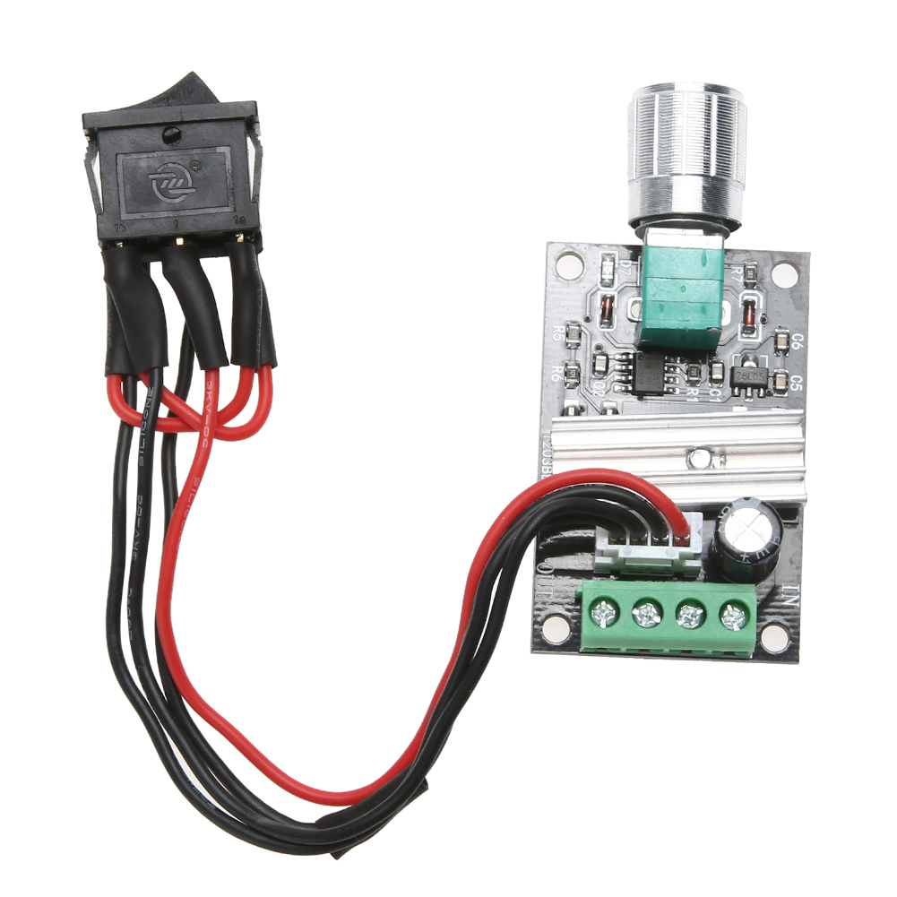 6V 12V 24V 3A PWM DC Motor Speed Controller Forward Reverse /w Switch digital dc motor pwm speed control switch governor 12 24v 5a high efficiency