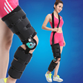 Adjustable Medical Knee Joint fixing Brace Fit for Knee Leg Fractures Ligament Injury Provide Support Rehabilitation Exercises