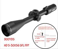 S.A.R. HD 5 30X56 SFL FFP Hunting Tactical SKS Rifle scope with 30MM Bubble Level Ring Mount airgun rifle for Pistola weapon