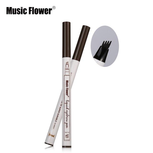 1pc Eyebrow Eyebrow Pencil Eyebrow Pen Women Girl Waterproof Fork Tip Eyebrow Tattoo Pen Brow Pencil Best Selling 2018 Products 1