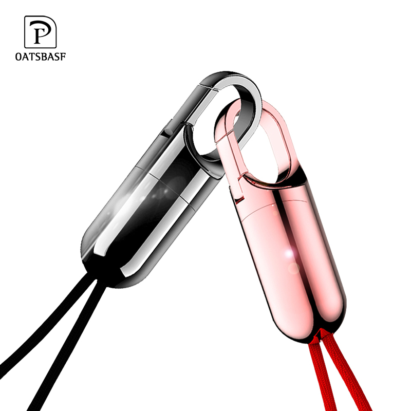 Oatsbasf for IPhone X XS Max Cable Fast Charger for Iphone 7 8 plus USB Charging Cord Keychain Design Mobile Phone Cable|Mobile Phone Cables| |  - AliExpress