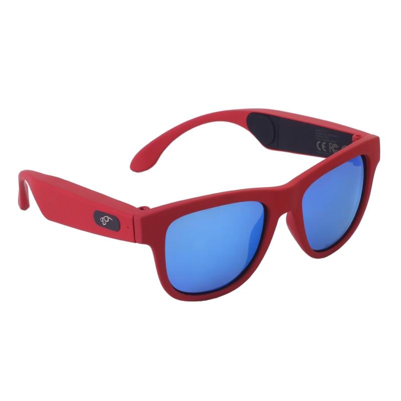 Red frame Blue lens