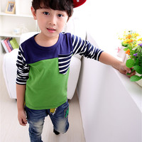 Fashion Baby Boy T Shirt Autumn Long Sleeve Next Kids Clothes Camisa Infantil Tops Tee Toddler
