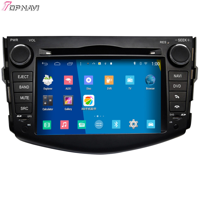 "7"" Quad Core S160 Android 4.4 Car DVD Multimedia GPS For Toyota RAV4 With Stereo Radio Mirror Link 16Gb Flash Free Shipping"