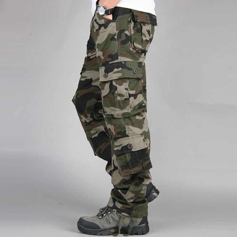 HTB18OPeb9tYBeNjSspkq6zU8VXaY Camouflage Pants Men Casual Camo Cargo Trousers Hip Hop Joggers Streetwear Pantalon Homme Multi-pocket Military Tactical Pants
