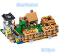 NEW Special 1221pcs Minecrafted Series The Village model Building Blocks Classic min blocks birthday Toy  for children