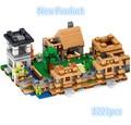 NUEVO Especial 1221 unids Minecrafted Serie La Aldea modelo Building Blocks Classic min bloques de Juguete para niños de cumpleaños
