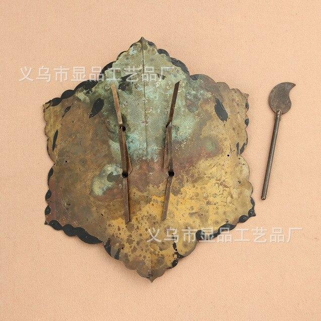 Raccords en cuivre direct de larmoire ronde   Meubles en Bronze antique Ming et Qing, poignée de porte, paragraphe Fulin