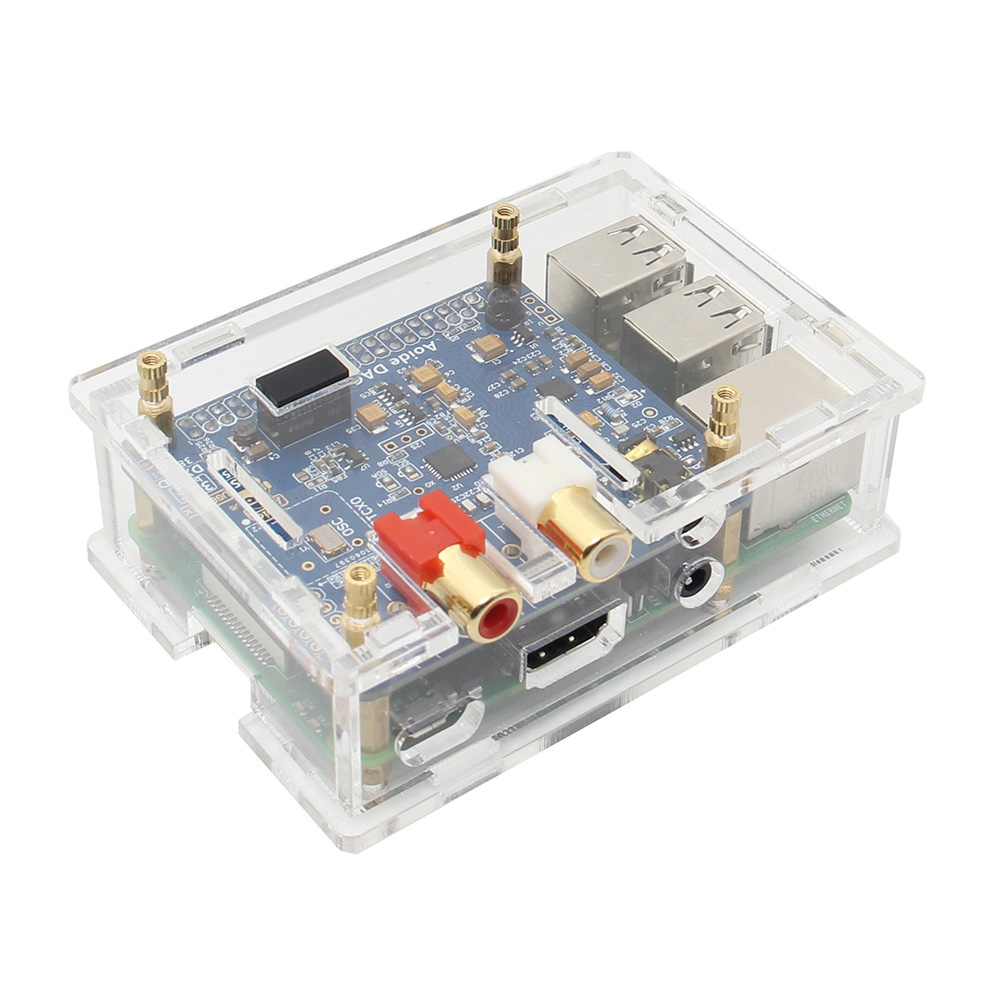 Raspberry Pi Audio Board Case Black I2s Interface Hifi Dac Expansion Wolfson Card Circuit For Cancel Reply Ii Sound Acrylic Compatible With Rapberry 3 Model B