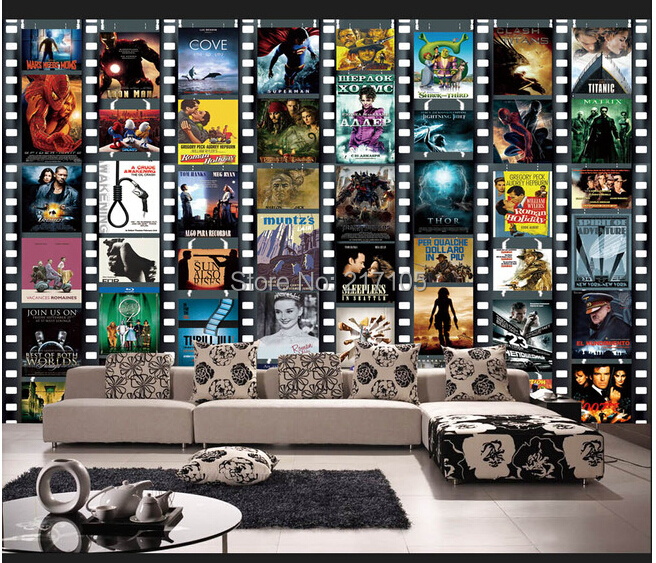 buy custom modern wallpaper movie posters 3d wallpaper murals for living room. Black Bedroom Furniture Sets. Home Design Ideas
