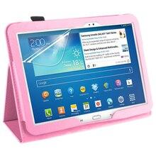 PU Cubierta de Cuero Para Samsung Galaxy Tab 3 P5200 P5210 10.1 P5220 Tablet