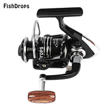 Fishdrops Size 1000 – 7000 13BB Metal Reel Spinning Fishing Reel Fake Bait Tackle with One Way Clutch