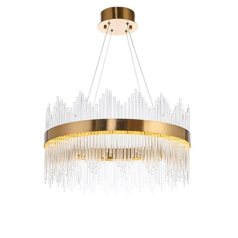 2017 NEW Design Modern Crystal Round LED Pendant Lights Industrial Pendant Lights Gold Bar Stair Dining Room Fixtures автоинструменты new design autocom cdp 2014 2 3in1 led ds150