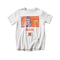 White Fashion 2018 t Shirt Men Cotton Summer Solid Anime Shirt Camiseta Masculina Printed Tshirt Hipster Dia Del Padre 50T0168