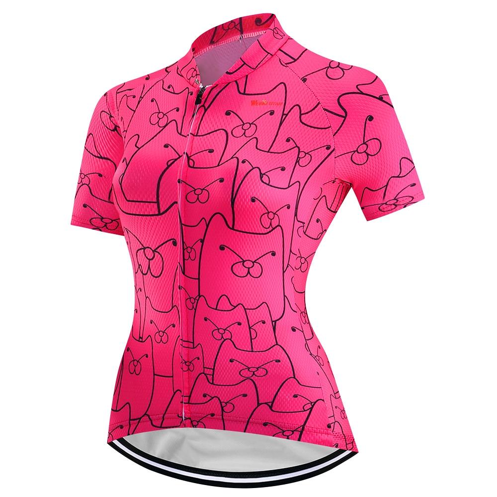 2018 Summer Womens Cycling Jersey Short Sleeve Set Cycling Clothing Cycle Wear MTB bicycle Clothing Short Sleeve T-shirt shorts