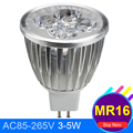 12-24v Mr16 Led Spotlight 3w 4w 5w Non Dimmable COB Led Downliht High Power Lampada Energy Saving Home Base Replace Bulb Lamp