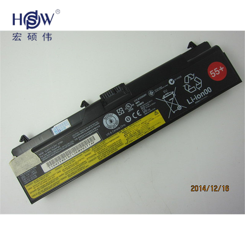 Original-LAPTOP-batterie 10,8 V 57WH FÜR Lenovo ThinkPad SL410 L410 T520 L412 L420...