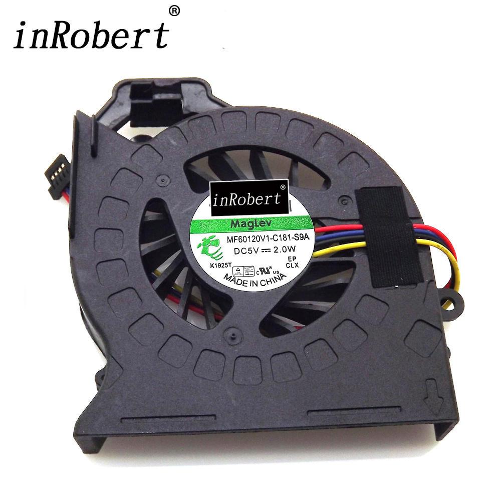 New Laptop CPU Cooler Fan For HP Pavilion DV6 DV6-6000 DV6-6050 DV6-6090 DV6-6100 DV7-6000 SUNON P/N: MF60120V1-C181-S9A 574680 001 1gb system board fit hp pavilion dv7 3089nr dv7 3000 series notebook pc motherboard 100% working