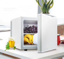 Небольшой холодильник с одной дверью для домашнего гостиничного