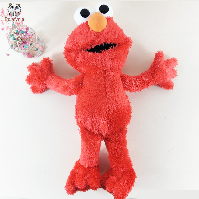 BOLAFYNIA Children Plush Stuffed Toys Red Elmo Sesame Street 35cm Baby Kid Toy For Christmas Birthday
