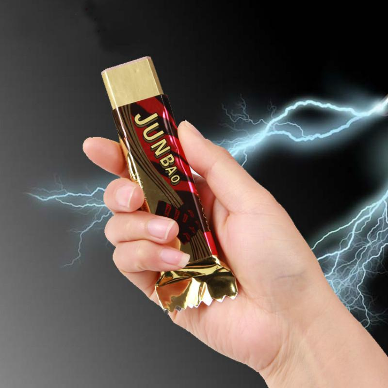 RCtown Tricky Funny Electric Shock Toy Halloween April Fool's Day Simulation Chocolate Novelty Gifts Zk25