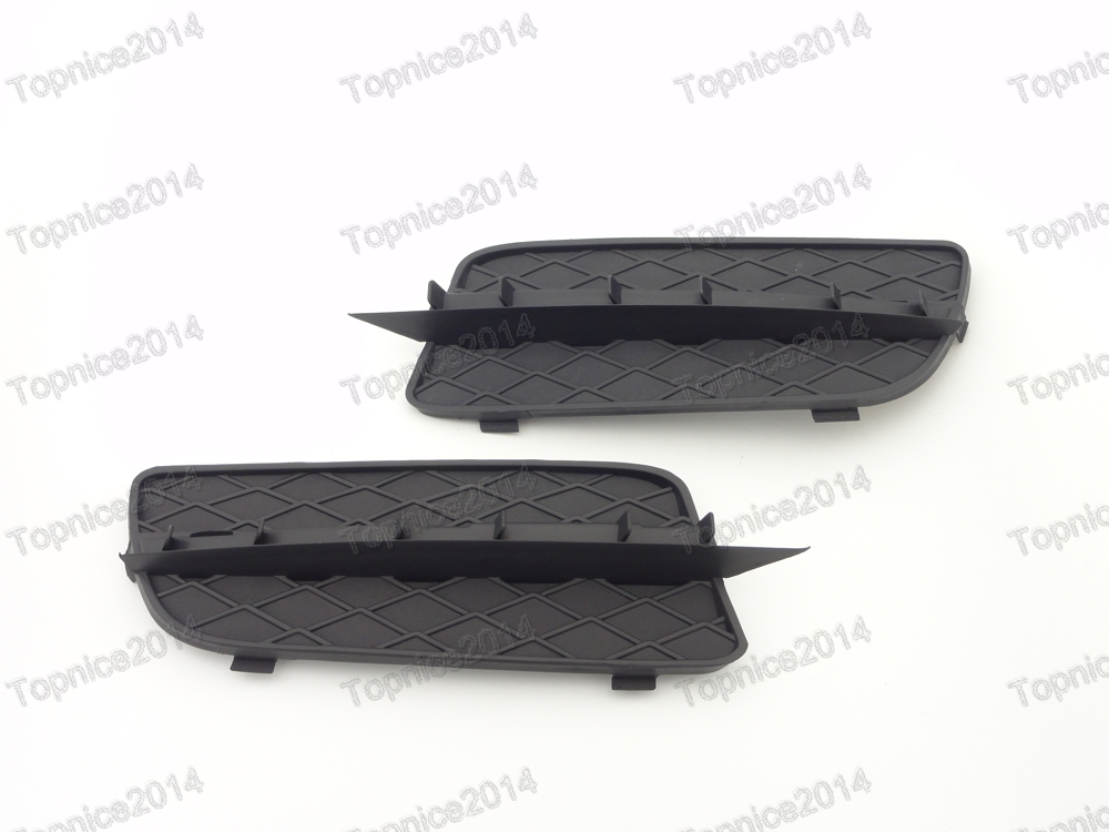 1Pair Replacement Front Bumper Grille Grill Covers For BMW X5 E70 2007 2010
