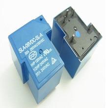 10 шт./лот Мощность реле SLA-05VDC-SL-A SLA-12VDC-SL-A SLA-24VDC-SL-A SLA-09VDC-SL-A 5 В, 12 В, 24 В постоянного тока, 09V 30A 5PIN T90