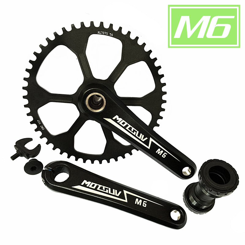 ФОТО Road Bicycle Crank Chainwheel Suits Aluminum Alloy Narrow Wide 42T 44T 46T 48T 50T Hollow integrated for 11 speed Bicycle Parts